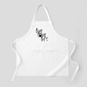 Live, Love, Lift Apron
