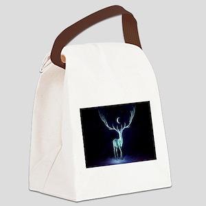 yule Canvas Lunch Bag