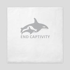 End Captivity Queen Duvet