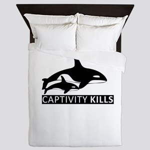 Save the Whales Queen Duvet