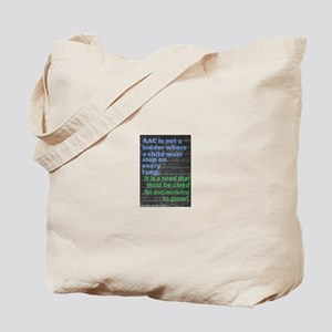 AAC is not a ladder... it's a seed! Tote Bag