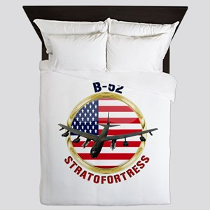 B-52 Stratofortress Queen Duvet