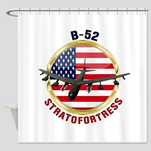B-52 Stratofortress Shower Curtain