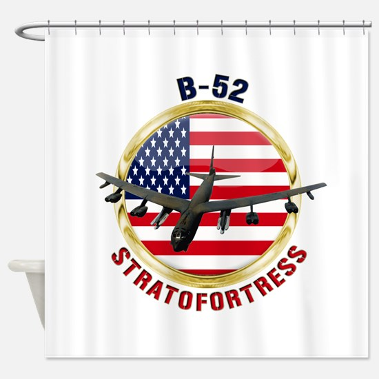 B-52 Stratofortress Shower Curtain