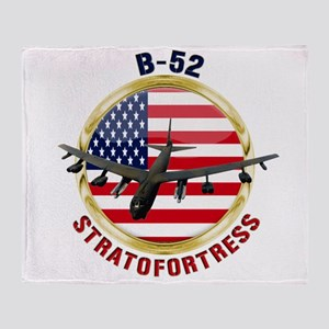 B-52 Stratofortress Throw Blanket