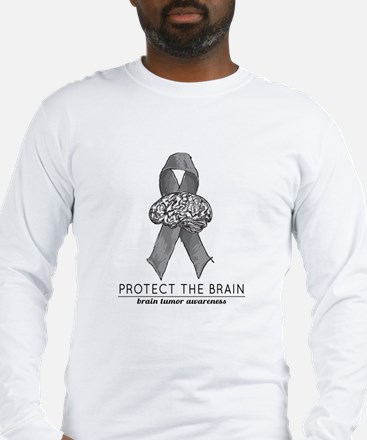 Protect the Brain Long Sleeve T-Shirt