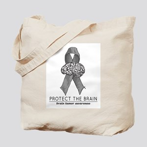 Protect The Brain Tote Bag