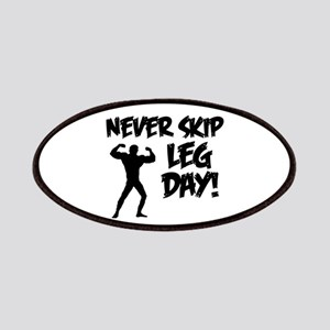 Never Skip Leg Day Patches