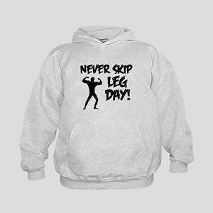 Never Skip Leg Day Hoodie