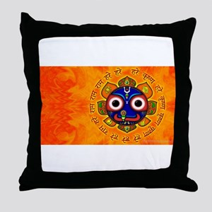 Lord of the Universe Throw Pillow