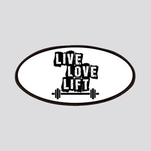 Live, Love, Lift Patches