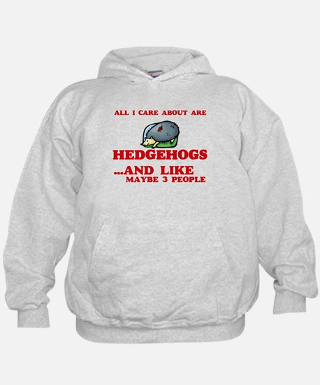 All I care about are Hedgehogs Sweatshirt