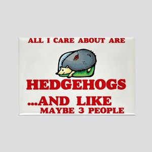 All I care about are Hedgehogs Magnets