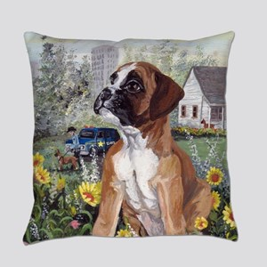 Boxer PD Everyday Pillow
