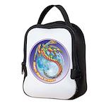 Magic Moon Dragon Neoprene Lunch Bag