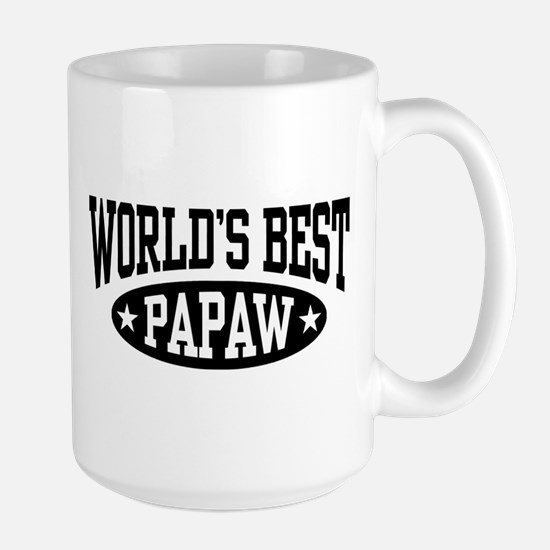 World's Best Papaw Large Mug