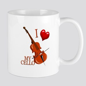 I Love My CELLO Mug