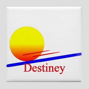 Destiney Tile Coaster