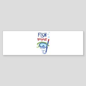 fish voyeur Bumper Sticker