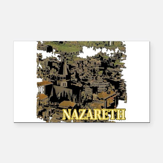 Nazareth Rectangle Car Magnet