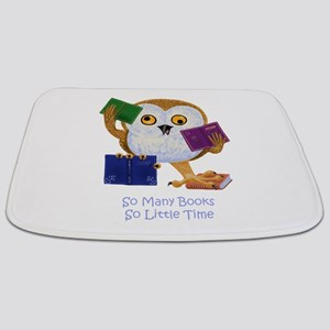 So Many Books So Little Time Bathmat