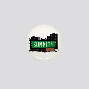 Summit Av, Bronx, NYC Mini Button