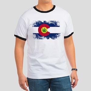 Colorado Marijuana Flag T-Shirt