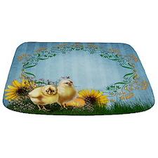 Easter Chickens Bathmat