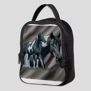 Pinto Horse Neoprene Lunch Bag