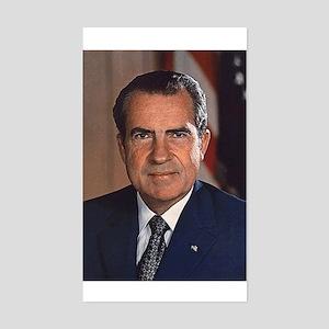 Richard M. Nixon Sticker (Rectangle)