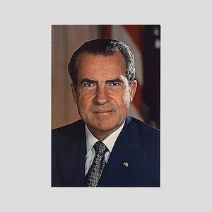 Richard M. Nixon Rectangle Magnet
