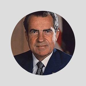 """Richard M. Nixon 3.5"""" Button"""