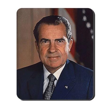 Richard M. Nixon Mousepad