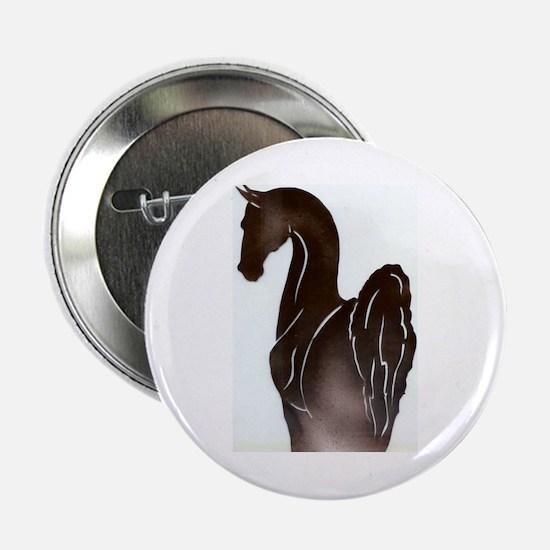 "Saddlebred Pose 2.25"" Button"