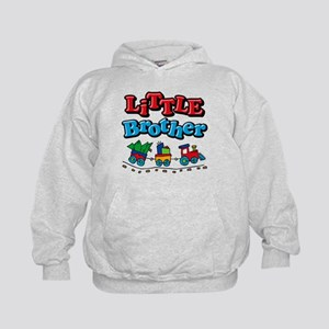 Choo Choo Little Brother Kids Hoodie
