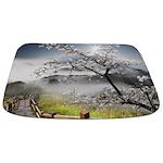 Japanese Cherry Landscape Bathmat