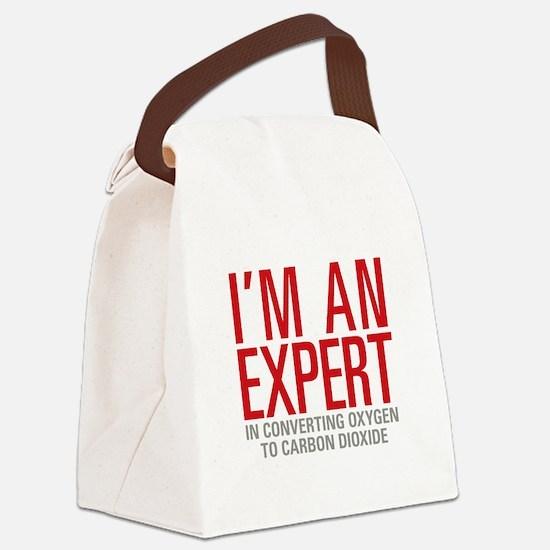Oxygen Carbon Dioxide Canvas Lunch Bag