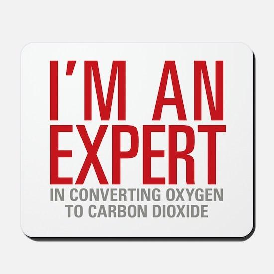 Oxygen Carbon Dioxide Mousepad