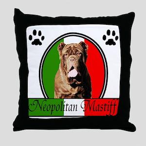 The Neo Mastiff Throw Pillow