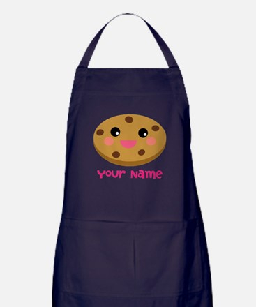 Cookie Lover Personalized Apron (dark)