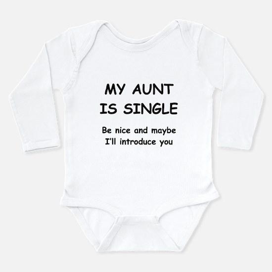 My Aunt Is Single Body Suit