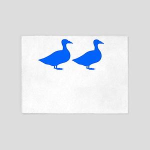 Duck Duck 5'x7'Area Rug