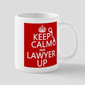 Keep Calm and Lawyer Up Mugs