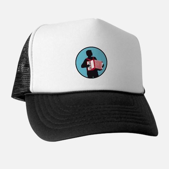 Accordion player Trucker Hat