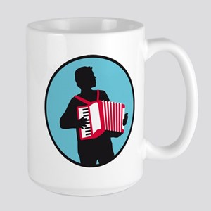 Accordion player Mugs