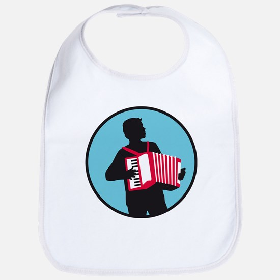 Accordion player Bib
