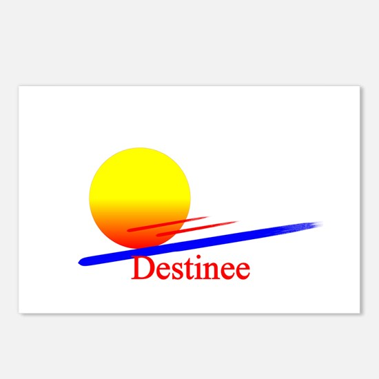 Destinee Postcards (Package of 8)