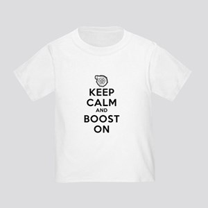 Keep Calm Boost On Toddler T-Shirt