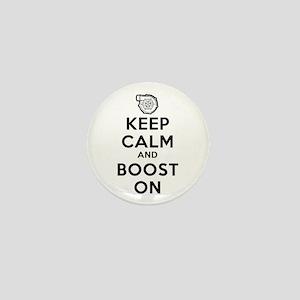 Keep Calm Boost On Mini Button