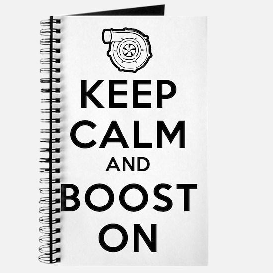 Keep Calm Boost On Journal